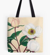 Botanical illustration: Peonies by Henry Charles Andrews – State Library Victoria Tote Bag