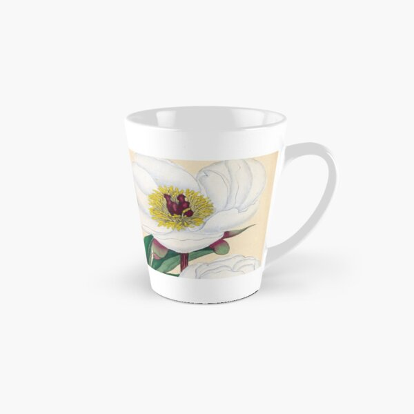 Botanical illustration: Peonies by Henry Charles Andrews – State Library Victoria Tall Mug
