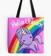 Hello Unicorn (Clean) Most Accurate Altered Carbon Tote Bag