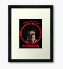 VINZ CLORTHO KEYMASTER Framed Print