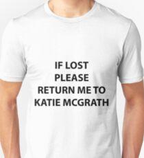 return to katie mcgrath Unisex T-Shirt