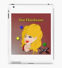 Star Hairdresser iPad Case/Skin