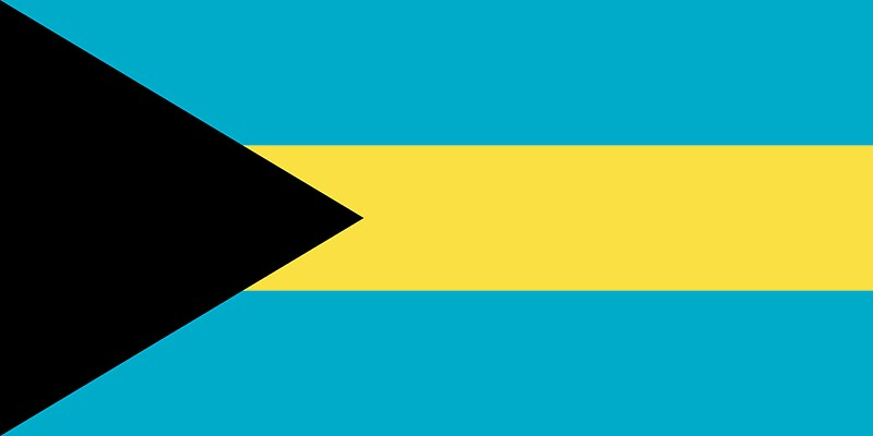 Bahamas flag sticker by bokrok