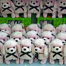 March Of The Pink Poodles by Virginia N. Fred