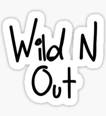 Wild N Out T Shirts Sticker