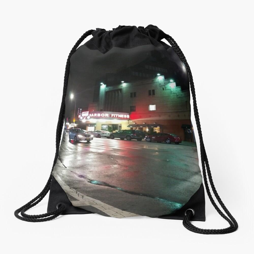 Street Drawstring Bag