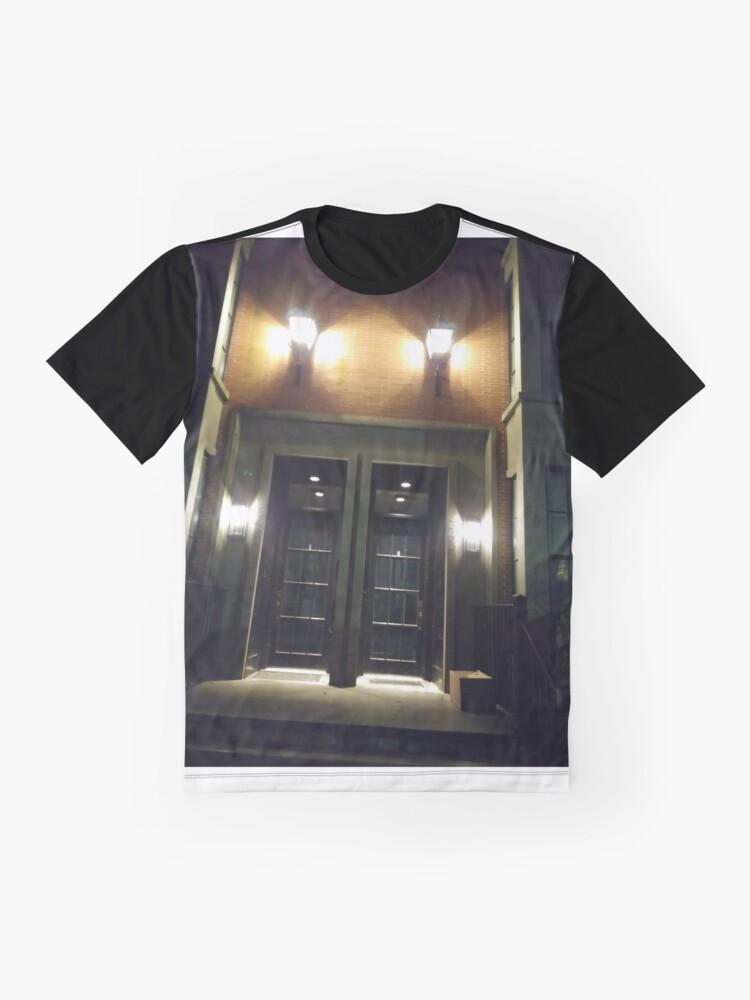 Alternate view of Lighting Graphic T-Shirt