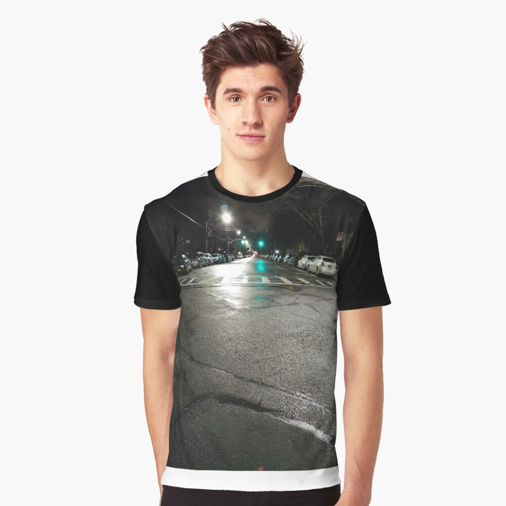 Night Graphic T-Shirt Front