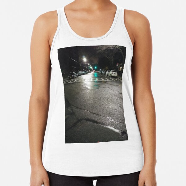 Night Racerback Tank Top