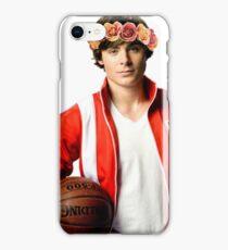 Zac Efron Flower Crown iPhone Case/Skin