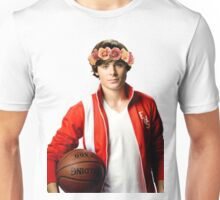 Zac Efron Flower Crown Unisex T-Shirt