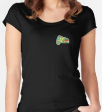 Panther Chameleon  Women's Fitted Scoop T-Shirt