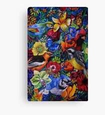 Feathered Foliage Canvas Print