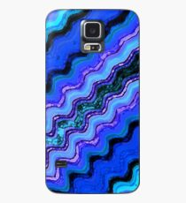 Blue Tranquil Waves Case/Skin for Samsung Galaxy