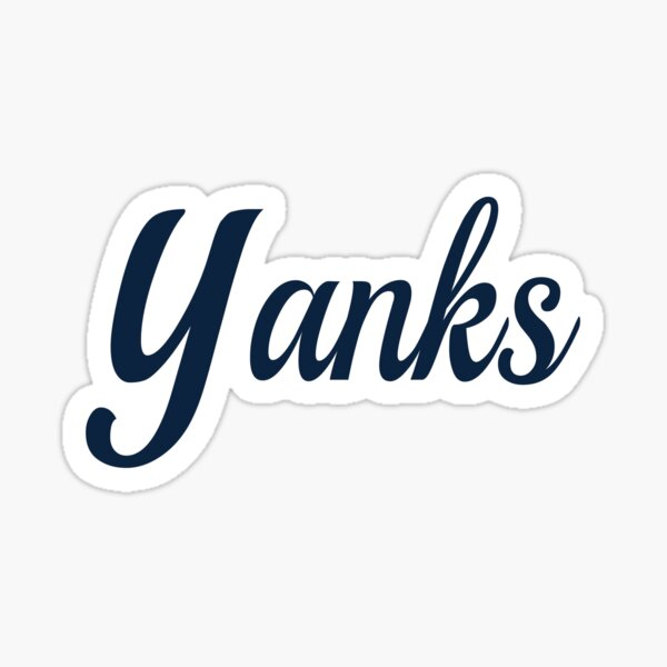 Yanks! Sticker