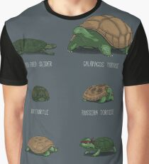 Know Your Turtles Graphic T-Shirt