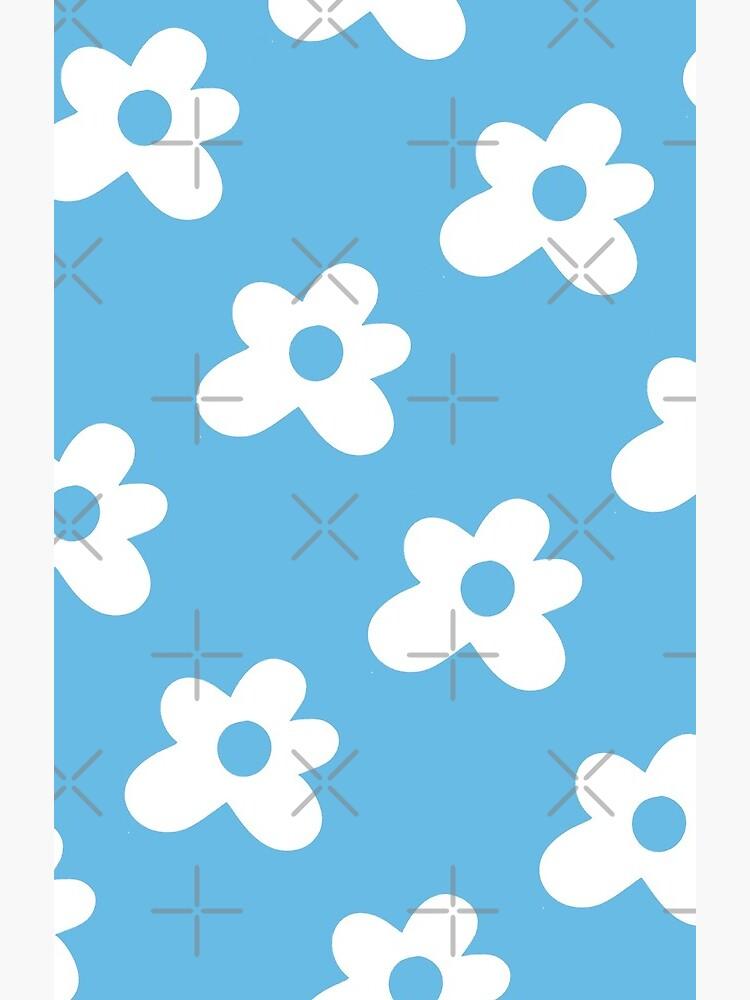 Golf Le Fleur Logo Pattern Blue Greeting Card By Tylerpetitt Redbubble