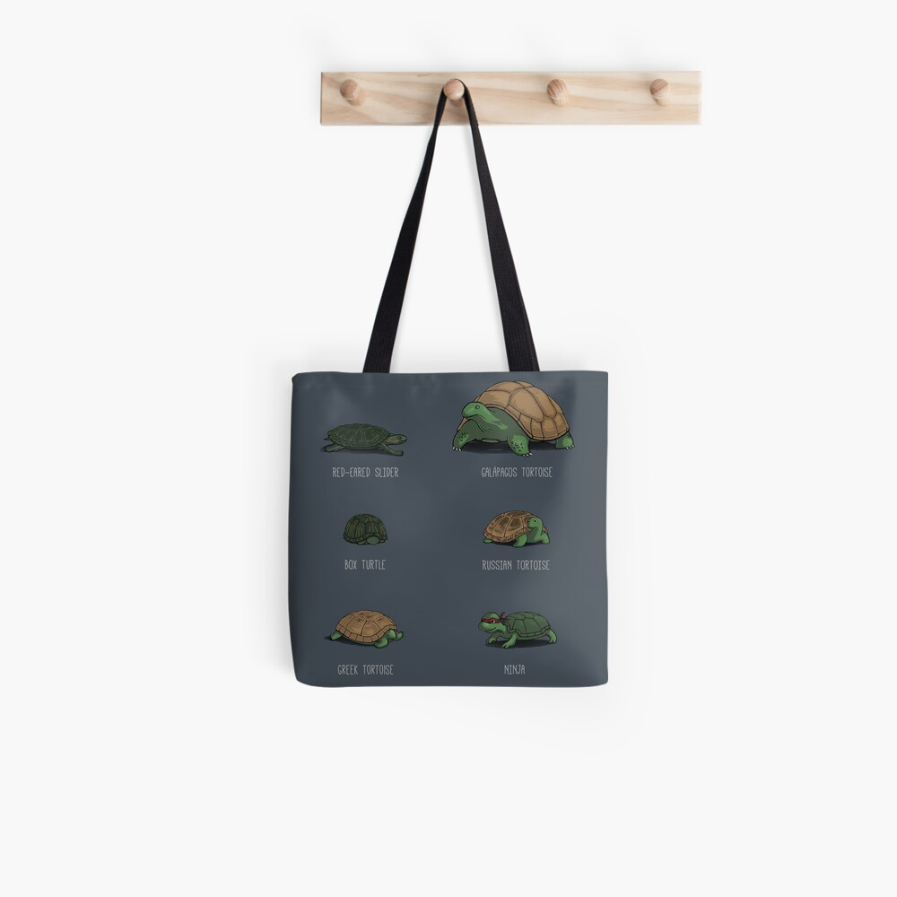 Know Your Turtles Tote Bag