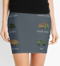 Know Your Turtles Mini Skirt
