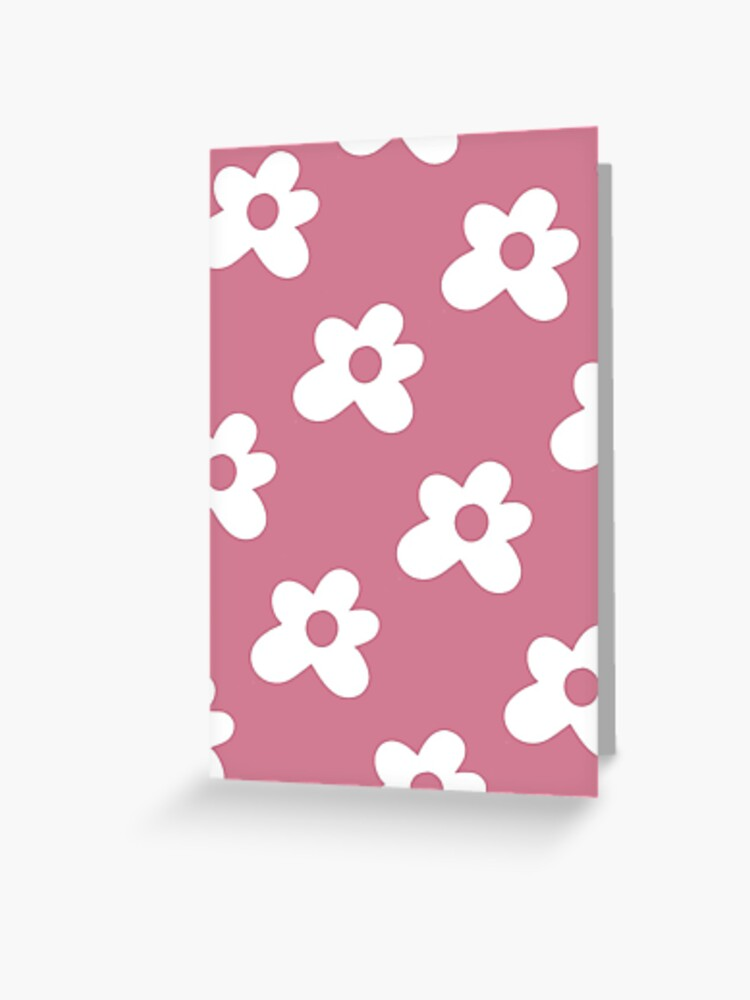 Golf Le Fleur Logo Pattern Pink Greeting Card By Tylerpetitt Redbubble