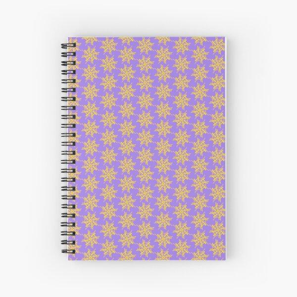 L A Tantra Logo On Lavender  Spiral Notebook