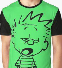 Calvin Want's To Sleep Graphic T-Shirt