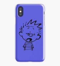 Calvin Want's To Sleep iPhone Case
