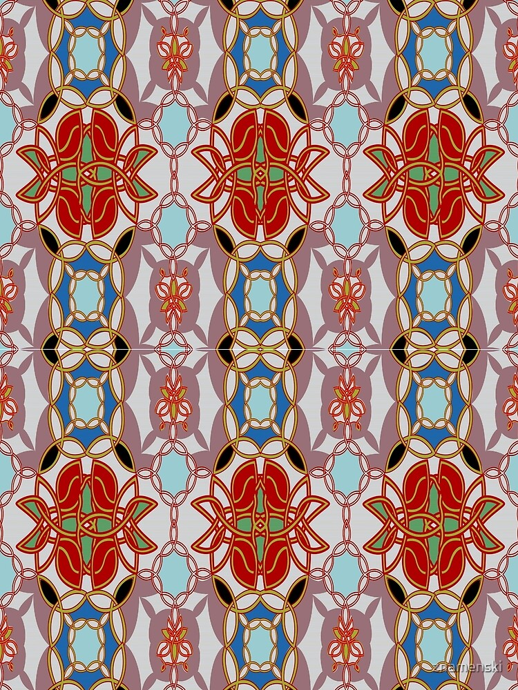 Pattern, design, arrangement, collection, collage, picture, pastiche, tessellated by znamenski