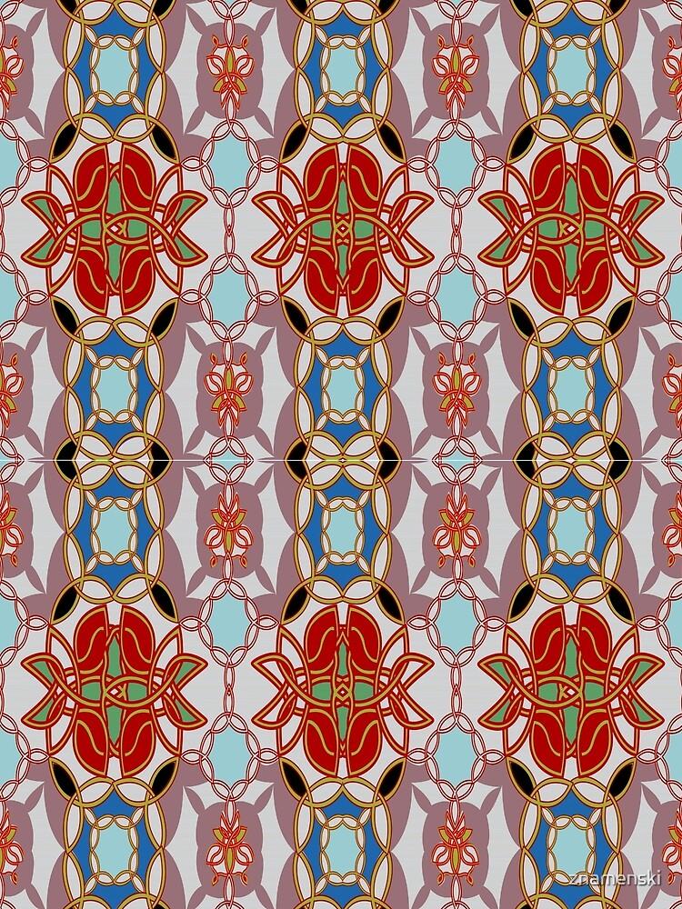 Pattern, design, arrangement, collection, collage, picture, pastiche, tessellated by znamenski