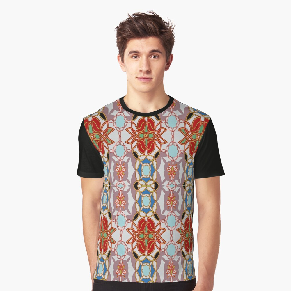 Pattern, design, arrangement, collection, collage, picture, pastiche, tessellated Graphic T-Shirt