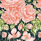 Lush Pink Rose by aidadaism