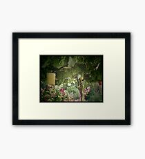 Before the Heat. Framed Print