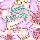 Happy Birthday Cupcake Card by aidadaism