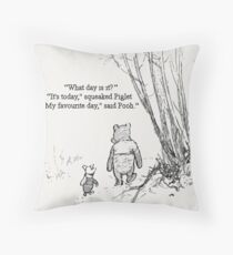 My Favourite Day Throw Pillow