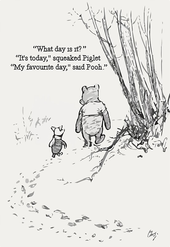 Pooh Quote The Winnie Framed Prints Redbubble