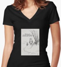 My Favourite Day Women's Fitted V-Neck T-Shirt