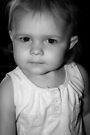 Little Girl in B&W von Evita