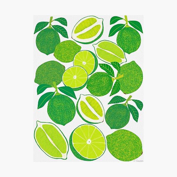 Lime Harvest Photographic Print