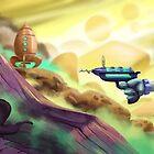 Catstronaut! by Tom Bradnam
