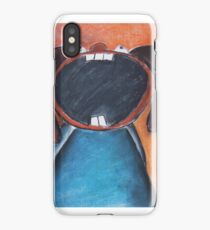 The screaming kid iPhone Case