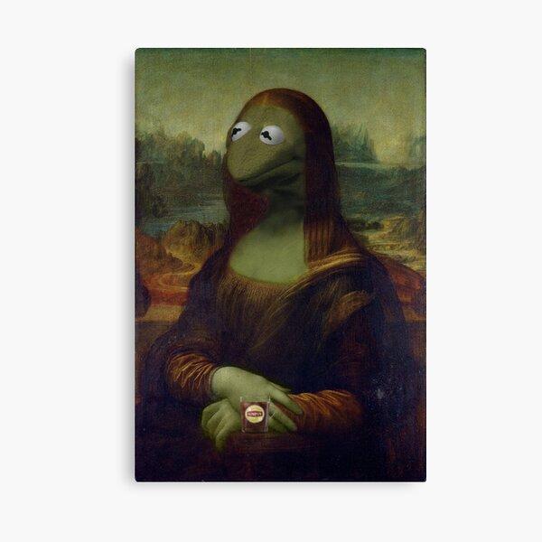 Mona Kermit Lienzo
