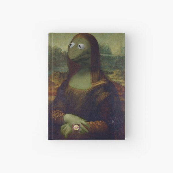 Mona Kermit Hardcover Journal