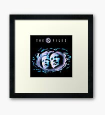 The X Files Series Framed Print