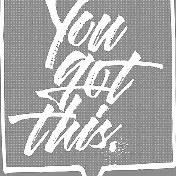 You Got This - Cola Pen Lettering by typeyeah