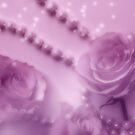 Pink Winter Roses And Pearls by hurmerinta