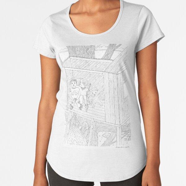 beegarden.works 012 Premium Scoop T-Shirt