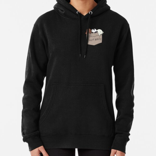 We Bare Bears Pouchie Shirt Pullover Hoodie