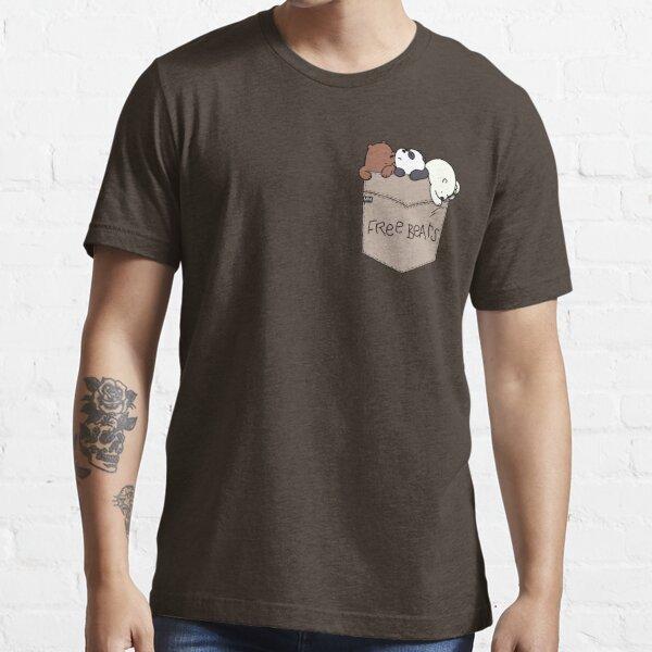 We Bare Bears Pouchie Shirt Essential T-Shirt