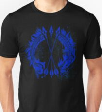 Hanzo Blue Dragon Tag Unisex T-Shirt