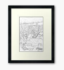 beegarden.works 013 Framed Print